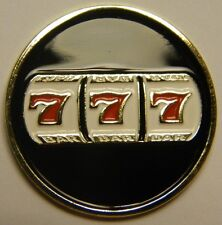 Vegas Style 777 Slot Machine Magnetic Golf Ball Marker - Incredible Detail