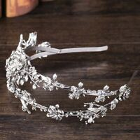 New Floral Double Layer Head Hoop Party Girls Headbands Mulheres Women Hair Band