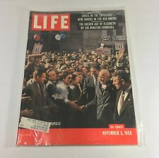 Life Magazine: 11/5/56 Dwight D. Eisenhower Political Campaigning In Minneapolis