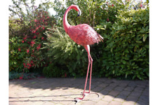 147cm Giant Metal Flamingo Garden Sculpture Ornament Decoration Outdoors