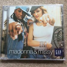 Rare Madonna Gap Promo CD With Missy New/Sealed