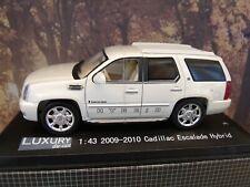 1/43 Luxury Diecast  Cadillac Escalade hybrid 2009-10
