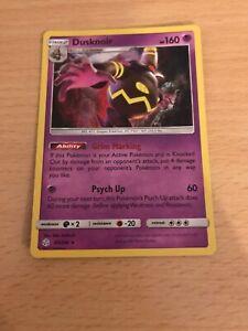 Pokemon Card Holo Dusknoir 85/236 Inc Free Card Deal