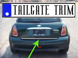 MINI 2002 2003 2004 2005 2006 2007 2008-2016 Chrome Tailgate Trunk Trim Molding