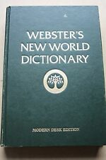 Websters New World Dictionary Modern Desk Edition