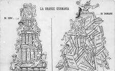 2257) WW1 SATIRICA, LA GRANDE GERMANIA DI IERI ... DI DOMANI.