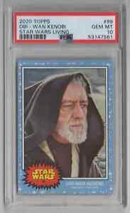 2020 Topps Star Wars Living Set #99 Obi-Wan Kenobi - PSA 10 GEM MT -NEWLY GRADED