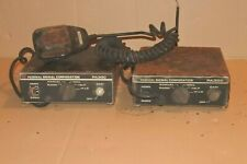Lot of 2 Vintage Federal Signal PA300 Siren AS IS for parts repair please read !