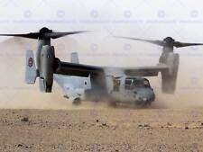 WAR AIR FORCE TRANSPORT HELICOPTER MV22B OSPREY LAND DESERT PRINT BB3345A