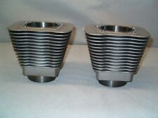 """Pair of 88"""" Big Bore Cylinders for 1984-1999 Harley Big Twin Using RevTech Heads"""