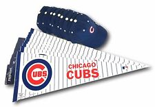 "Chicago Cubs 30"" Felt Pennant And Chicago Cubs Ball Cap 18 Piece Set"