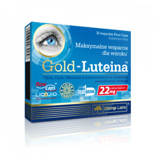 OLIMP Gold-Lutein (Lutein and Zeaxanthin - Healthy Eyes) 30 Caps FREE SHIPPING