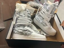 Chaussure, Nike AIR FORCE 1 HI PRM, homme, taille 9, white, neuve