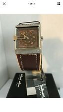 Black Dice Men's Grind Brown Dial And Brown Leather Strap Watch BD-047-02