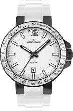 Jacques Lemans Uhr Milano 1-1695G Analog  Silikon Weiß