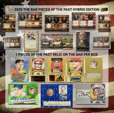 2020 THE BAR PIECES OF THE PAST HYBRID EDITION FACTORY SEALED BOX (1-2 HITS) PER
