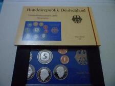 Germany Pre-Euro 10pcs Coin Set 2001 德国精制10枚套币 末版马克套币2001年