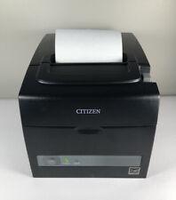 Citizen Ct S310ii U Bk Tz30 M01 Thermal Pos Receipt Amp Barcode Printer Usbserial
