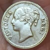 1848 Great Britain ENGLAND  .925 SILVER**UNC* GB Center D Model Penny U GRADE IT