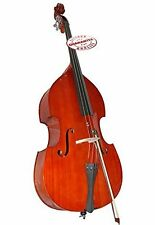 D'Luca 4/4 Upright Double Bass with Bag and Bow