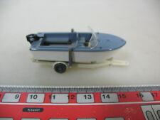 H374-0,5# WIKING H0 Anhänger mit Motorboot, 95, NEUW