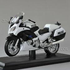 1:18 Maisto Diecast Motorcycle Model Toy Yamaha FJR1300A Police Bike Replica