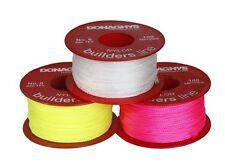 Donaghys Bricklayers Brickies Builders Nylon String Line No.8 x 50M Fluro Pink