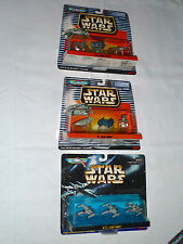 MicroMachine Vehicle Sets Iii, V & Xiii -X-Wing & Y-Wing Starfighters; Tie Fight