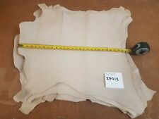 Cream Beige Sand Natural Goat Lining Leather 0.8-1mm Thick Good Quality 27013