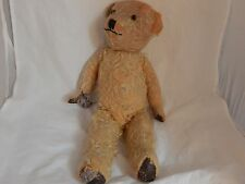 Very Old Teddy Bear with Glass Eyes and lots of wear from Love