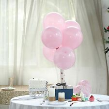 """25 Pink Matte 12"""" Round Latex Balloons Party Wedding Events Decorations Supplies"""