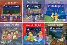 GOOD NIGHT PENNSYLVANIA Geographical Bedtime Boardbook Series by Adam Gamble 1-6