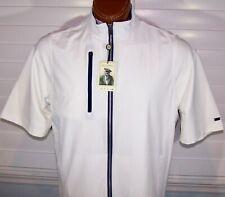 Donald Ross Golf collection full-zip Traveler Vest sz M White