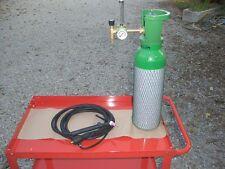 Kit bombola Argon  5 litri,  saldatura  , riduttore flussimetro,  torcia tig