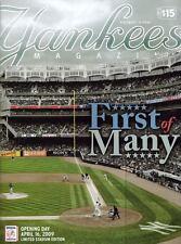 APRIL 16, 2009 NEW YORK YANKEES STADIUM OPENING DAY LIMITED EDITION PROGRAM