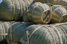 772069 Bamboo Baskets A4 Photo Print