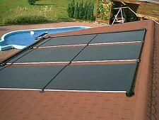 Akylux® Solarkollektoren 2,00 x 1,20 m für Poolheizung Solarkaptoren