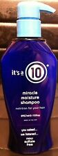 It's a 10 Ten Miracle Moisture Shampoo 10OZ/295.7 mL Sulfate Free-NEW NUTRITION