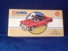 New Corgi Classics 1:43 Chicago Fire Chief #97389 Limited Edition Chevrolet