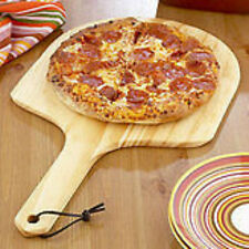 Wooden Wood Pizza Paddle Peel Lifter New