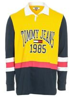 "BNWT Tommy Hilfiger Jean Retro "" Spell Out "" Vintage rugby Shirt  size Large"