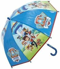 Official Paw Patrol Ombrello Blu Curvi Pop-up Bambini Scuola Run Ombrello