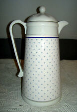 King Thermos / Carafe & Lid in Blueberry Coupe Design Pfaltzgraff Style