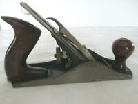 """VINTAGE ANTIQUE STANLEY BAILEY PLANE NO. 4 MADE IN USA  9-3/4"""" X 2-1/2""""  NICE"""
