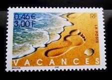 SELLOS FRANCIA 2001 3399 74 VACACIONES 1v.