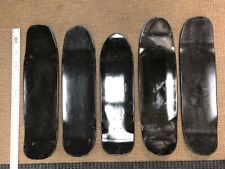 "Skateboard Decks, 8.5""- 9.5"" Black Park shapes(5 or 10 Pack)Usa made($9.99 each)"