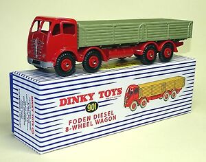 Truck Foden 8 Wheels - Ref 901 to the / Of 1/43 Of DINKY Supertoys Atlas