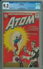 ATOM #8 CGC 9.2 WHITE PAGES