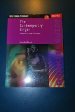 Vocal Technique The Contemporary singer songbook & CD Anne Peckham music book