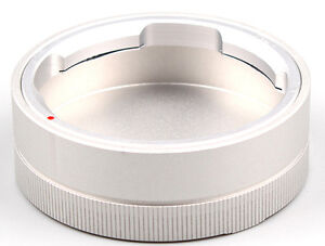 1PC Metal silver color Rear Lens Cap fits For LEICA M Mount Camera Lenses